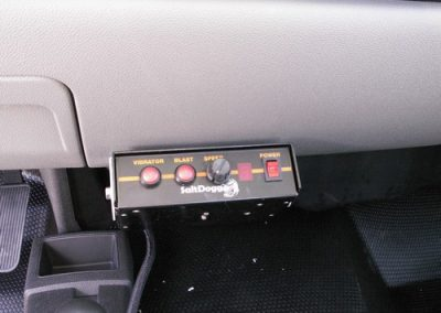 7.Salt Dogg Tailgate Spreader Controls