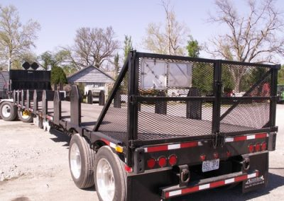 65.Custom Built Tombstone Trailer