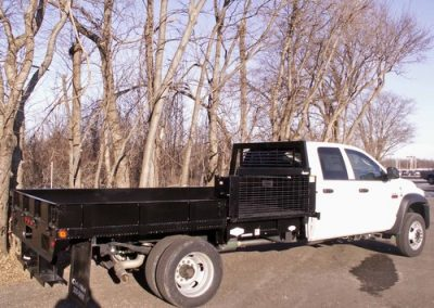 25. Custom Flatbed with Side Mount Liftgate