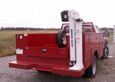 29. 108 Stahl Service Body with EconoTon Autocrane