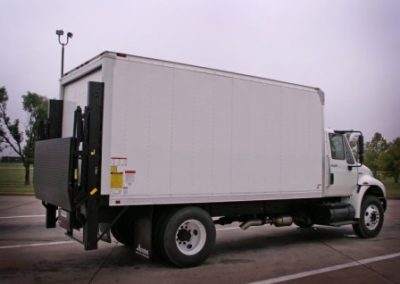 56.16' Supreme Van Body With Thieman Rail Gate