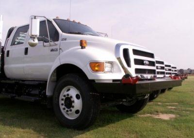 59.Custom Made Front Bumper With Rigid 610 Vises
