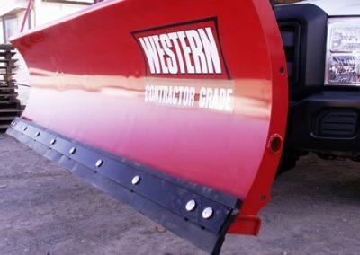 2.8' Western Rubber Cutting Edge