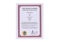Osage Nation Tax Commission Business License
